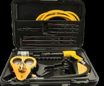 Πνευματικό εργαλείο διάσωσης Quick Kut Air Hammer Kit