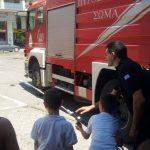 Το «Χαμόγελο του Παιδιού» στην Πυροσβεστική Υπηρεσία Αγρινίου