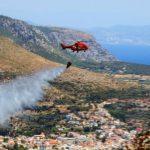 Πυρκαγιές σε Αττική, Μάνη, Εύβοια