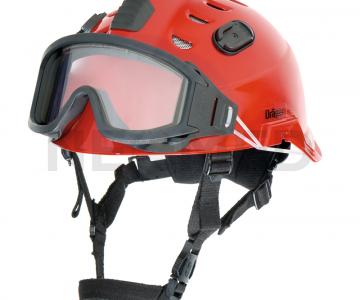 Κράνος Ασφαλείας Draeger HPS 3500 Basic Κόκκινο με γυαλιά ασφαλείας