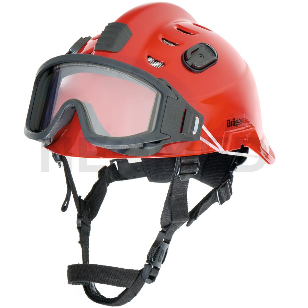 Κράνος Ασφαλείας Draeger HPS 3500 Basic Κόκκινο με γυαλιά ασφαλείας ... a9edc1e5d4f