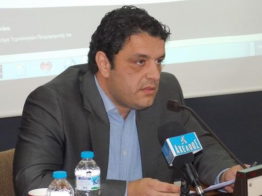 Νίκος Γκρίζης Αντιδήμαρχος Αγρινίου