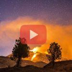Δασικές πυρκαγιές μέσα απο timelapse...