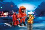 Playmobil Πυροσβέστης ειδικών δυνάμεων