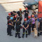 Εκπαίδευση τεχνικής διάσωσης με σχοινιά σε αστικό πεδίο