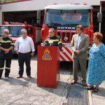 H Πυροσβεστική Υπηρεσία Καβάλας ευχαριστεί την Energean για την αποκατάσταση οχήματος