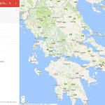 Χάρτες με τα Διοικητικά όρια των ΟΤΑ, Πυροσβεστικού Σώματος και των Δασαρχείων