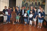 «Μικροί πυροσβέστες» από τη Γερμανία επισκέφτηκαν το Δημαρχείο