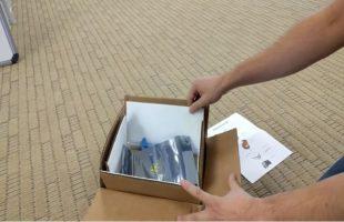 Το κουτί επιστροφής των Galaxy Note 7 έχει γάντια και… πυρασφάλεια