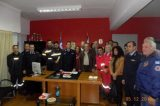 Πάτρα: H Πυροσβεστική τίμησε τους εθελοντές πυροσβέστες