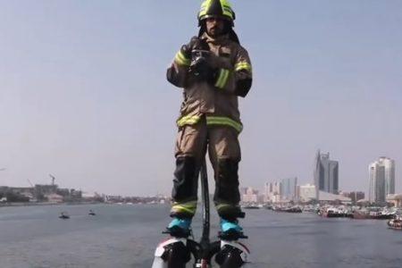 Ντουμπάι: Οι «ιπτάμενοι πυροσβέστες» φτάνουν ταχύτερα