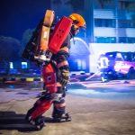 Εξωσκελετός της εταιρίας Auberon παίρνει το βαρύ φορτίο από τους πυροσβέστες
