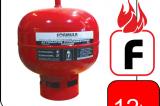 Αυτόματος Πυροσβεστήρας Οροφής Σκόνης 12kg