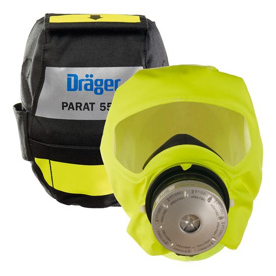 Κουκούλα Επείγουσας Διαφυγής Dräger Parat 5550 Fire Pack