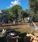 Δράση εθελοντικών οργανώσεων πολιτικής προστασίας στην πληγείσα περιοχή της Κινέτας